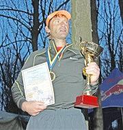 Победитель 41-й «сотки» Дмитрий Верютин