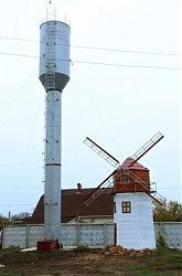 Умелые руки. Башня Рожновского и мельница Баштана